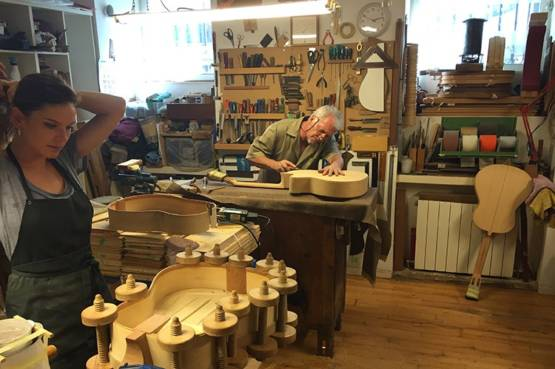 The Guitar Makers of Madrid